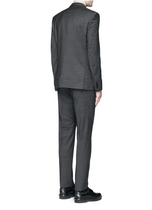 Back View - Click To Enlarge - Givenchy - Notch lapel speckled wool suit
