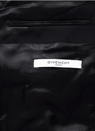 - Givenchy - Madonna collar wool-Mohair suit