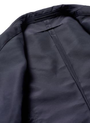 - Givenchy - Patch pocket nylon soft blazer