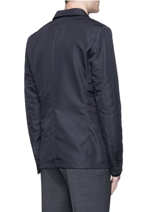 Back View - Click To Enlarge - Givenchy - Patch pocket nylon soft blazer