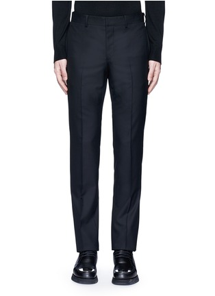 Main View - Click To Enlarge - Givenchy - Side strap wool pants