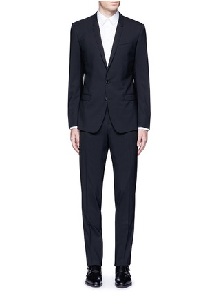 Main View - Click To Enlarge - - - 'Gold' slim fit three piece suit