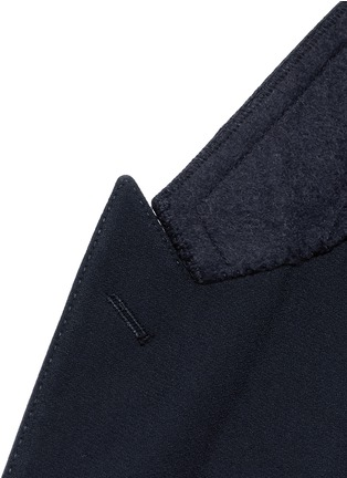 Detail View - Click To Enlarge - - - 'Martini' satin trim wool-silk tuxedo blazer