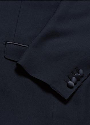 - - - 'Martini' satin trim wool-silk tuxedo blazer
