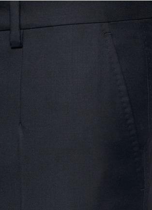 Detail View - Click To Enlarge - - - Slim fit wool pants