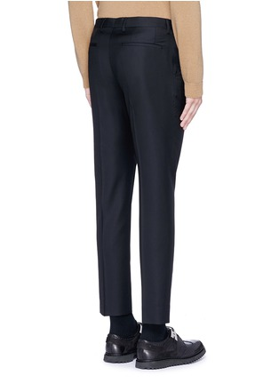 Back View - Click To Enlarge - - - Slim fit wool pants