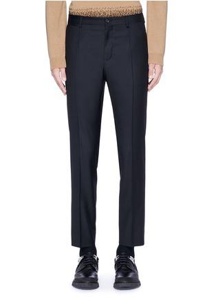 Main View - Click To Enlarge - - - Slim fit wool pants