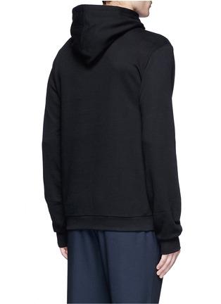 Back View - Click To Enlarge - Dolce & Gabbana - Sicilian Cowboy appliqué hoodie