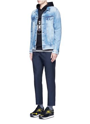 Figure View - Click To Enlarge - Dolce & Gabbana - Sicilian Cowboy appliqué hoodie