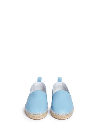 Front View - Click To Enlarge - 90119 - Lambskin leather espadrilles