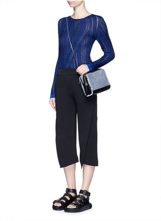 Figure View - Click To Enlarge - Acne Studios - 'Marcy Moulin' ladder stitch rib knit sweater