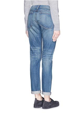 Back View - Click To Enlarge - rag & bone/JEAN - 'The Dre' Boyfriend Skinny jeans