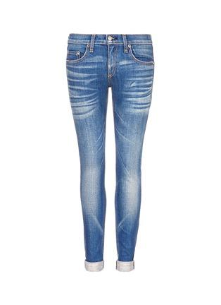 Main View - Click To Enlarge - rag & bone/JEAN - 'The Dre' Boyfriend Skinny jeans
