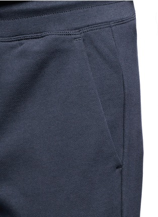 Detail View - Click To Enlarge - Moncler - Cotton French terry sweatpants