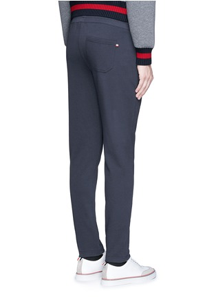 Back View - Click To Enlarge - Moncler - Cotton French terry sweatpants