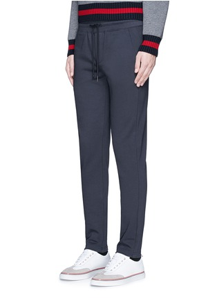 Front View - Click To Enlarge - Moncler - Cotton French terry sweatpants