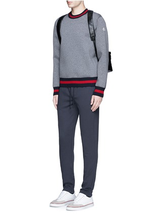 Figure View - Click To Enlarge - Moncler - Cotton French terry sweatpants