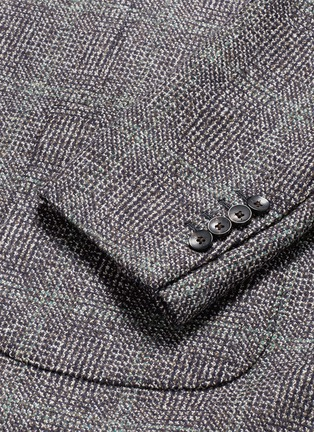 - Lardini - Python mélange lambswool soft blazer