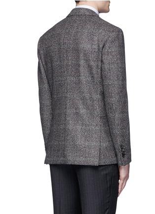 Back View - Click To Enlarge - Lardini - Python mélange lambswool soft blazer