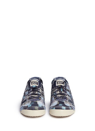 Figure View - Click To Enlarge - Onitsuka Tiger - 'Mexico 66' denim patchwork sneakers