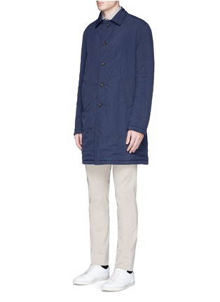 Front View - Click To Enlarge - Lardini - Reversible cashmere and shell coat