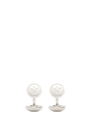 Main View - Click To Enlarge - Babette Wasserman - 'Trellis' button cufflinks