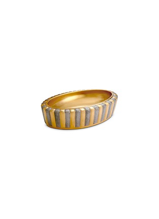 Main View - Click To Enlarge - L'Objet - VOYAGE D'OR 10TH ANNIVERSARY OVAL VIDE POCHE