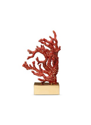 Main View - Click To Enlarge - L'OBJET - Coral bookend