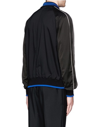 Back View - Click To Enlarge - Lanvin - Contrast tipping teddy jacket