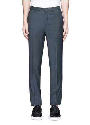 Main View - Click To Enlarge - Lanvin - Raw edge side trim wool pants
