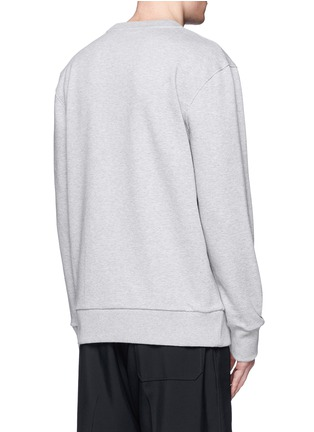 Back View - Click To Enlarge - Lanvin - Sequin spider embroidery sweatshirt
