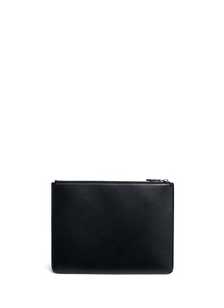 Back View - Click To Enlarge - Givenchy - 'Pervert 17' leather zip pouch