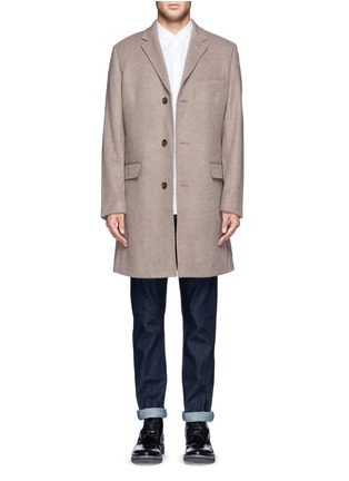 Main View - Click To Enlarge - J.CREW - 'Ludlow' topcoat in wool cashmere