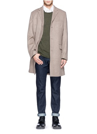 Figure View - Click To Enlarge - J.CREW - 'Ludlow' topcoat in wool cashmere