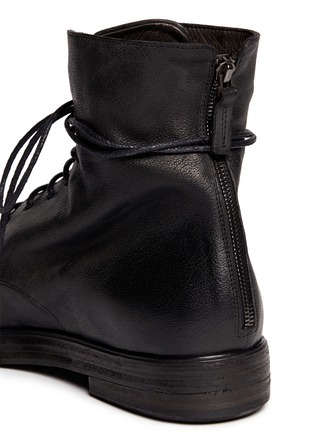 Detail View - Click To Enlarge - Marsèll - 'Bolla Zucca Zeppa' lace-up boots
