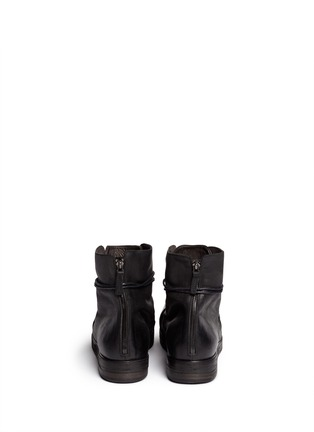 Back View - Click To Enlarge - Marsèll - 'Bolla Zucca Zeppa' lace-up boots