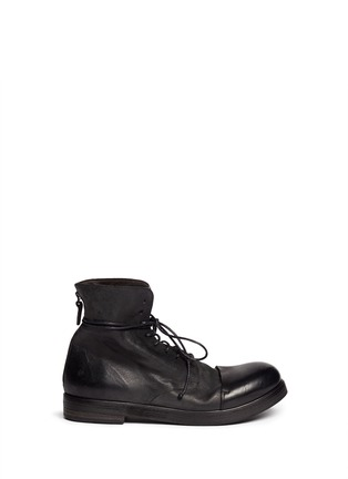 Main View - Click To Enlarge - Marsèll - 'Bolla Zucca Zeppa' lace-up boots