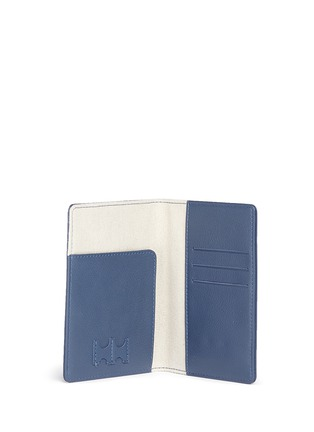 Figure View - Click To Enlarge - BYND ARTISAN - Fine grain leather passport holder