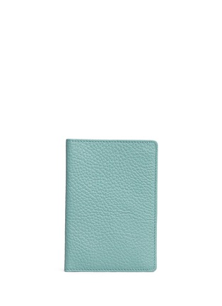 Main View - Click To Enlarge - BYND ARTISAN - Pebble grain leather passport holder