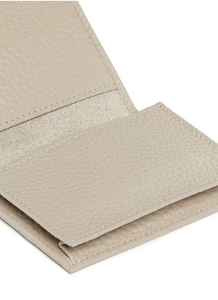 Detail View - Click To Enlarge - Bynd Artisan - Pebble grain leather multi card holder