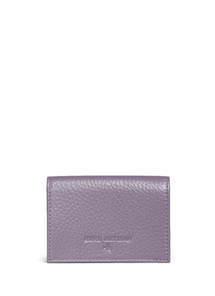 Figure View - Click To Enlarge - Bynd Artisan - Pebble grain leather multi card holder