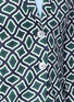 Detail View - Click To Enlarge - Gucci - Retro wave print cotton suiting jacket