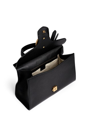 Detail View - Click To Enlarge - Gucci - 'GG Marmont' medium grainy leather shoulder bag