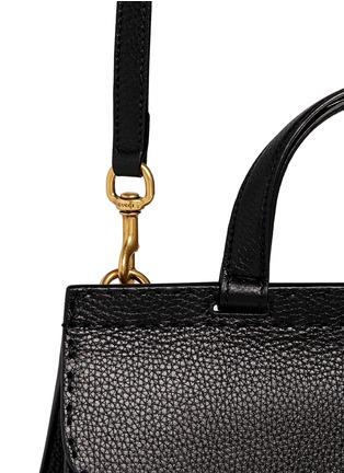 - Gucci - 'GG Marmont' medium grainy leather shoulder bag