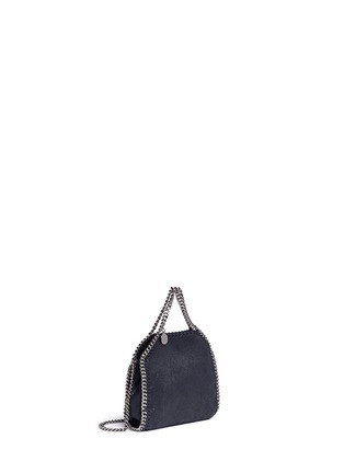 Front View - Click To Enlarge - Stella McCartney - 'Falabella' tiny shaggy deer crossbody chain tote