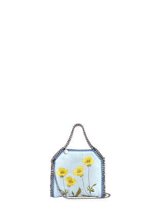 Main View - Click To Enlarge - Stella McCartney - Falabella' mini botanical denim chain tote