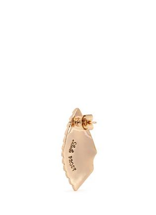 Detail View - Click To Enlarge - Lulu Frost - 'Horizon' ombré enamel fan stud earrings