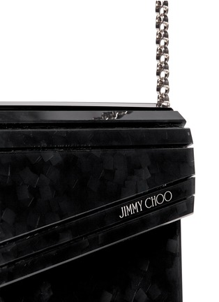 Detail View - Click To Enlarge - Jimmy Choo - 'Candy' confetti acetate square clutch