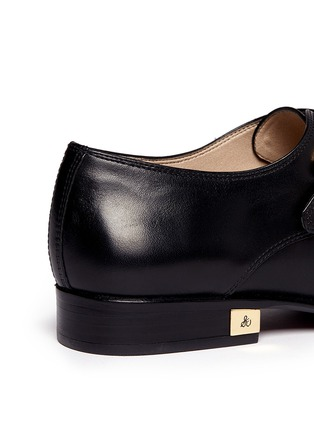 Detail View - Click To Enlarge - Sam Edelman - 'Balfour' leather monk strap shoes