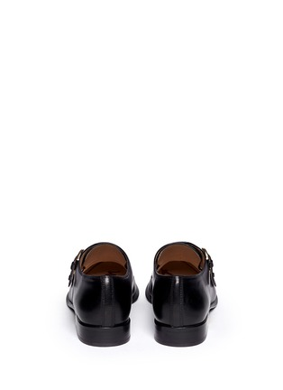 Back View - Click To Enlarge - Sam Edelman - 'Balfour' leather monk strap shoes